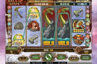 Hall of Gods Slots - Play Hall of Gods Slot Free No Download