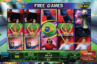 Football Carnival Slot Machine - Play for Free Online