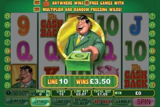 free online slots bonus cashback scene