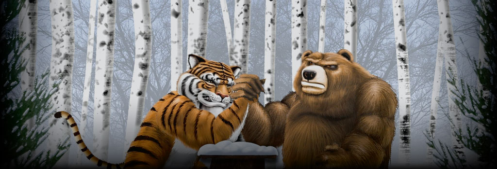 Tiger vs Bear Slot Review & Free Instant Play Game
