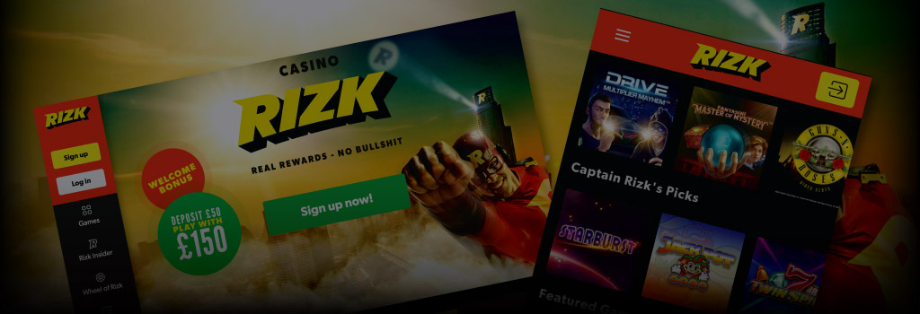 Rizk Casino Online Review With Promotions & Bonuses