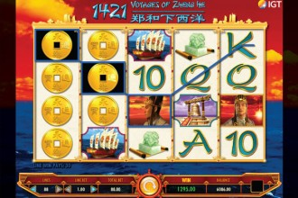 1421 Voyages Of Zheng He - Rizk Casino