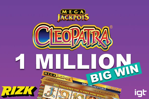 Rizk Online Casino - A €385 000 Jackpot Winner